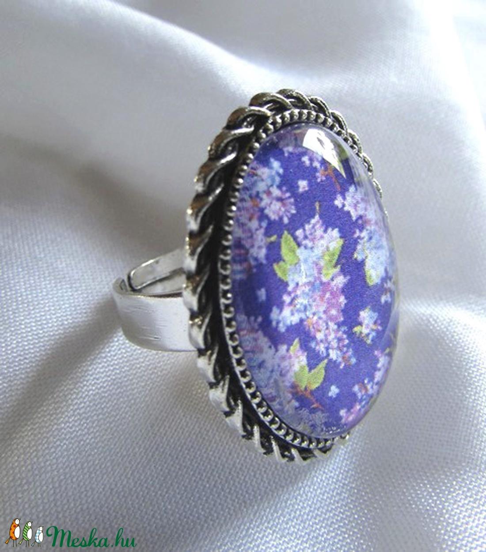 ÚJ KOLLEKCIÓ-vintage ORGONA- gyűrű - ékszer - gyűrű - üveglencsés gyűrű - Meska.hu