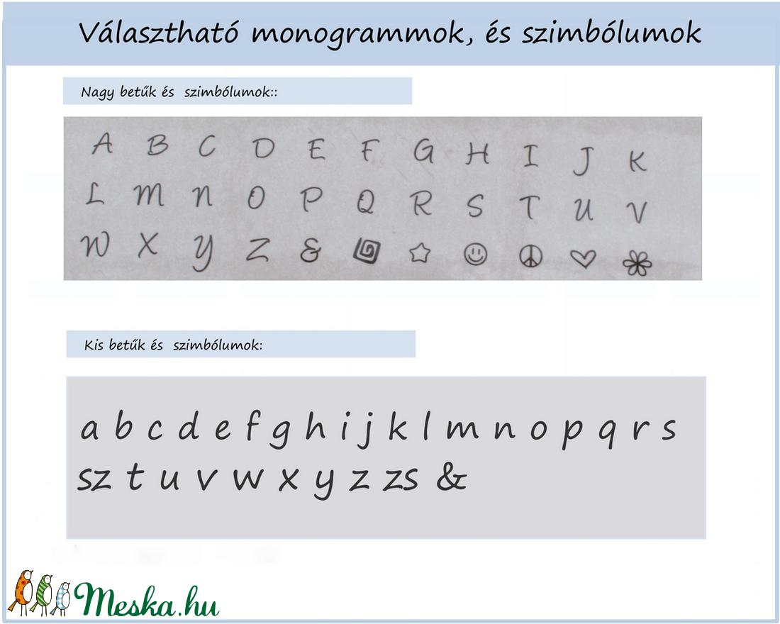 Mini  - szál karkötő - ékszer - karkötő - karkötő medállal - Meska.hu