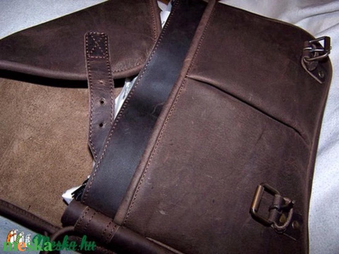 Koptatott barna marhabőr táska sétához 4ecc765ea5