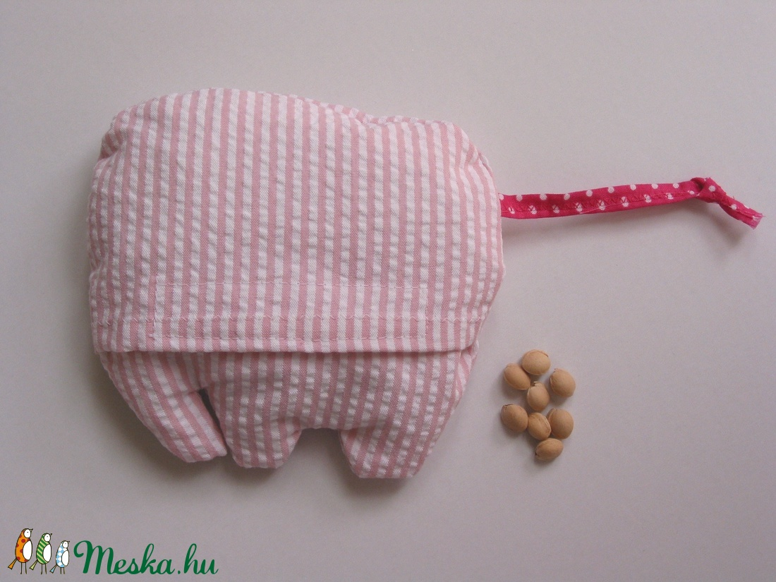 Elefáni- meggymag párna - játék & gyerek - plüssállat & játékfigura - más figura - Meska.hu