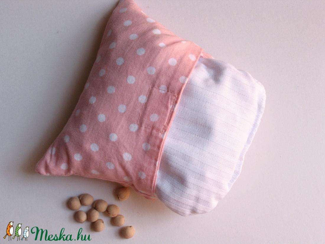 Bagoly doktor- meggymag párna (rózsaszín pöttyös) (Jam81) - Meska.hu 74992a1d8d