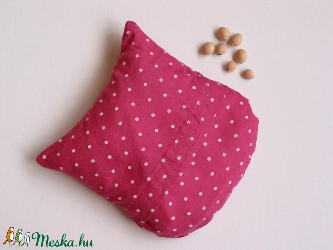 Bagoly doktor- meggymag párna (rózsaszín pöttyös -virágos) (Jam81) -  Meska.hu 8d984745ee