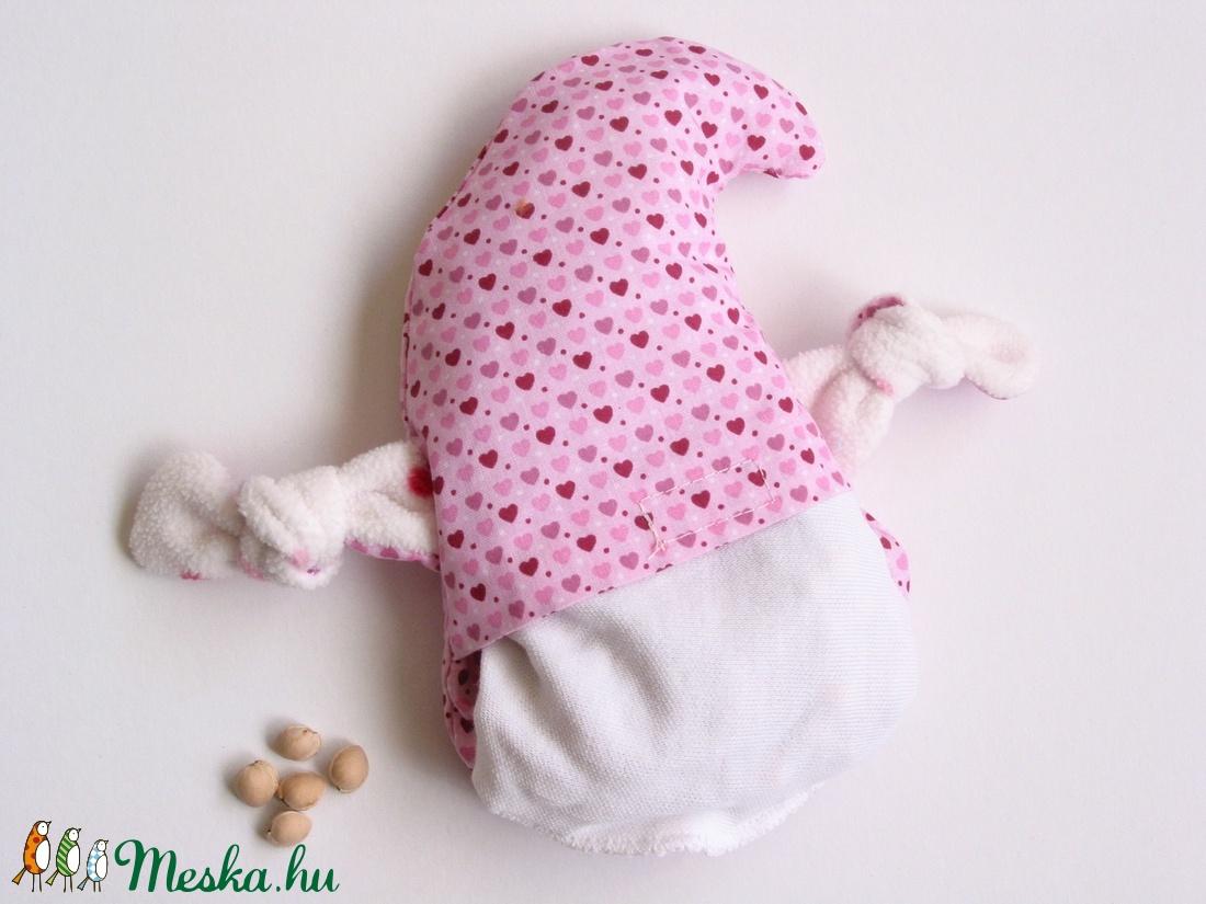 Manócska- meggymag párna (rózsaszín szívecskés) (Jam81) - Meska.hu 0f3ee35d01