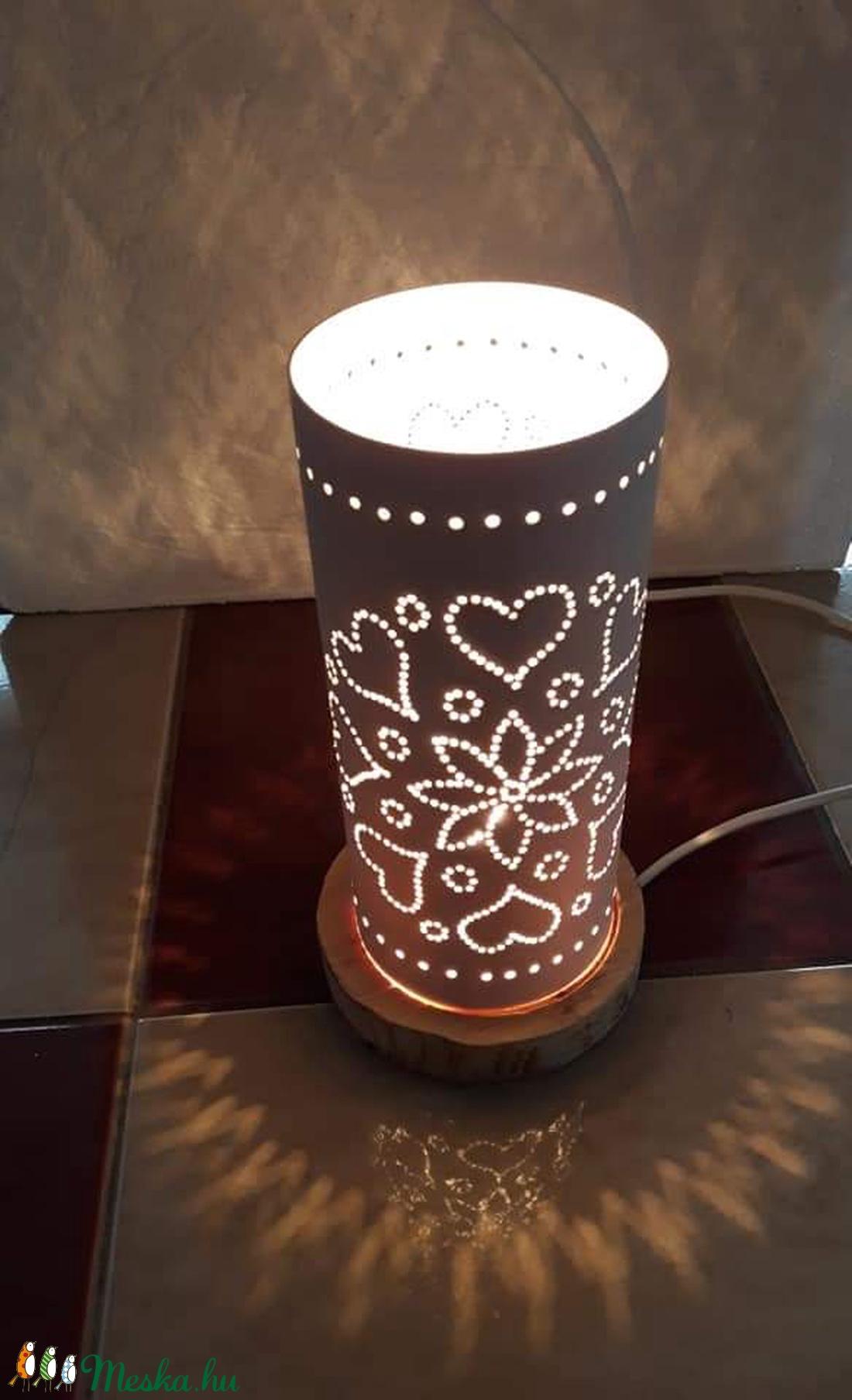 Szeretet hangulati lámpa (Jazmin75) - Meska.hu