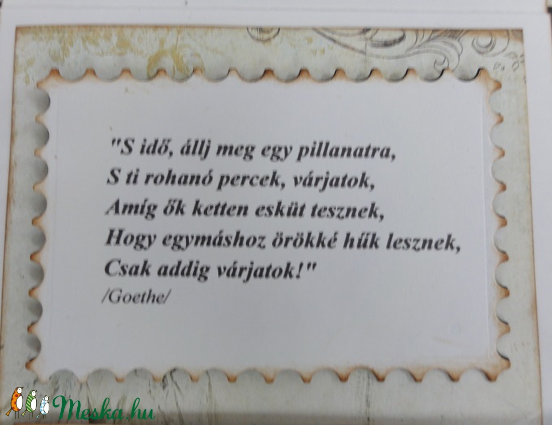 esküvői képek idézettel Esküvői pénzátadó könyvecske idézettel (Jbgifts)   Meska.hu esküvői képek idézettel