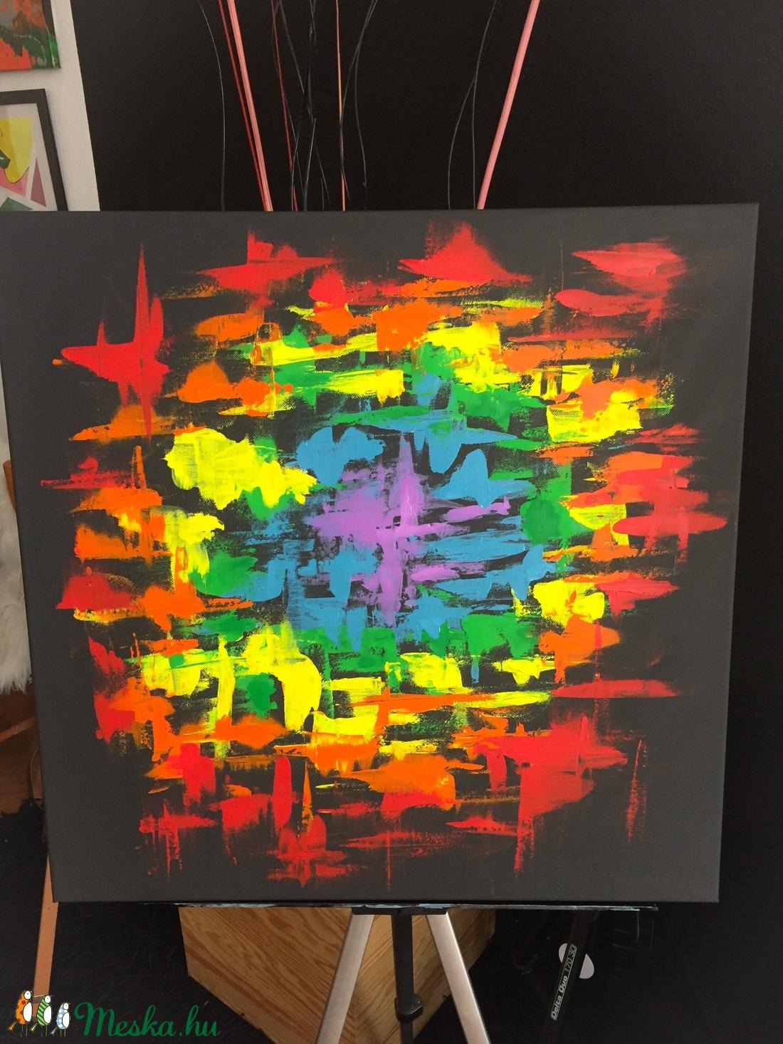 Colors kreatív Art paint (home decoration) - művészet - festmény - akril - Meska.hu