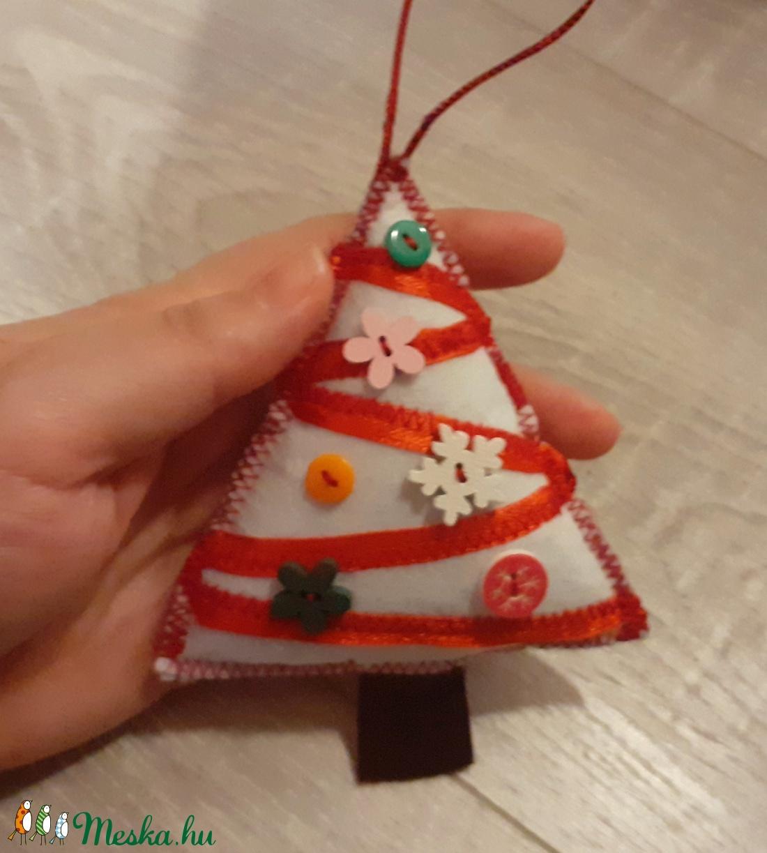 Karácsonyfadísz karácsonyfa - karácsony - karácsonyi lakásdekoráció - karácsonyfadíszek - Meska.hu