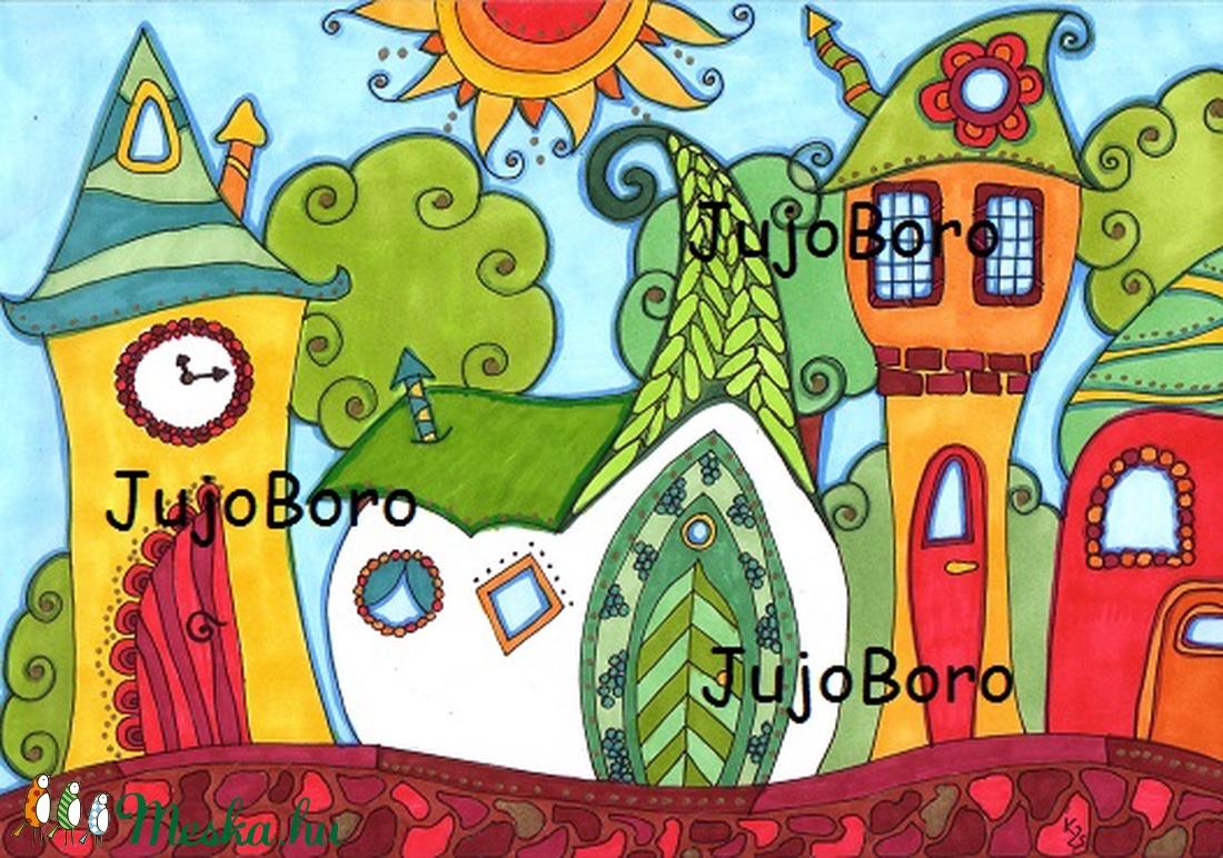 Manóházak (JujoBoro) - Meska.hu