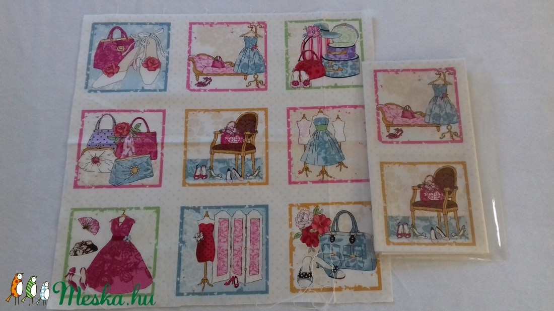 Patchwork anyag (Fashion) - textil - pamut - Meska.hu