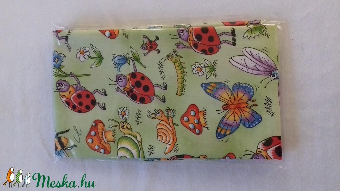 Patchwork anyag (Bugs) - textil - pamut - Meska.hu