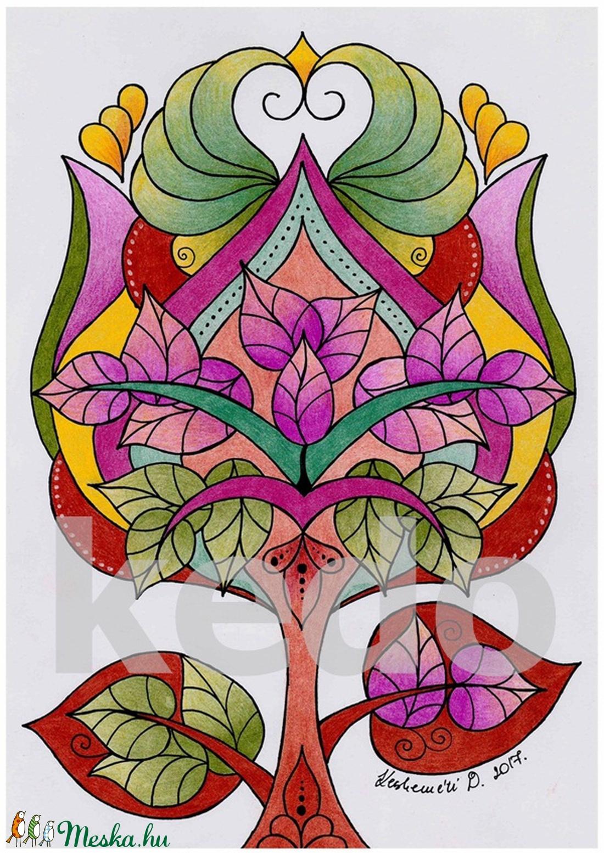 Tulipánfa (kedo) - Meska.hu