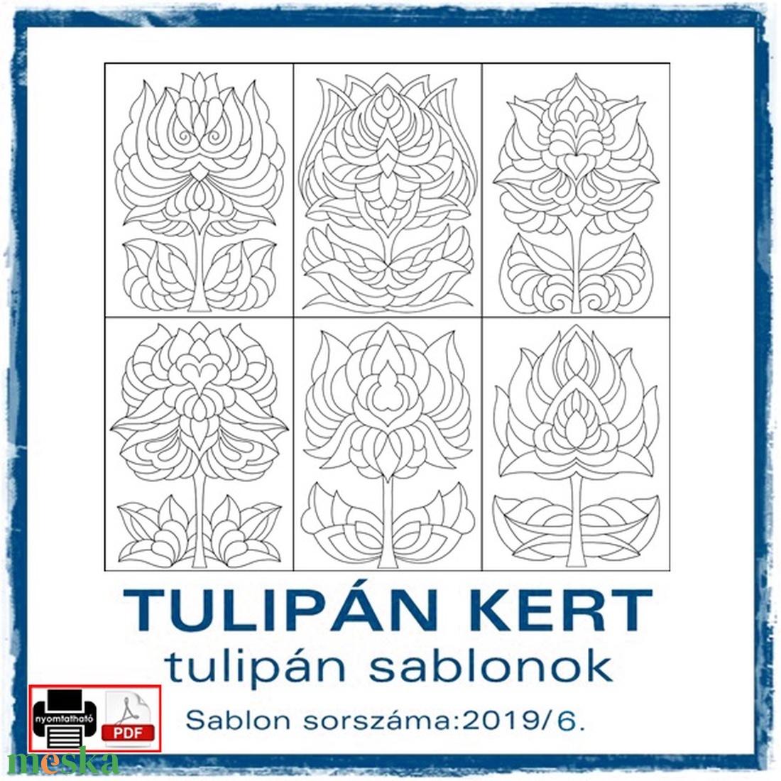 TulipánKert 2019/6 - művészet - grafika & illusztráció - Meska.hu