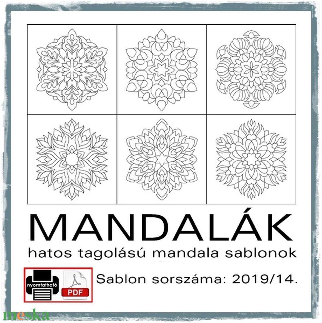 Mandalák 2019/14. (kedo) - Meska.hu