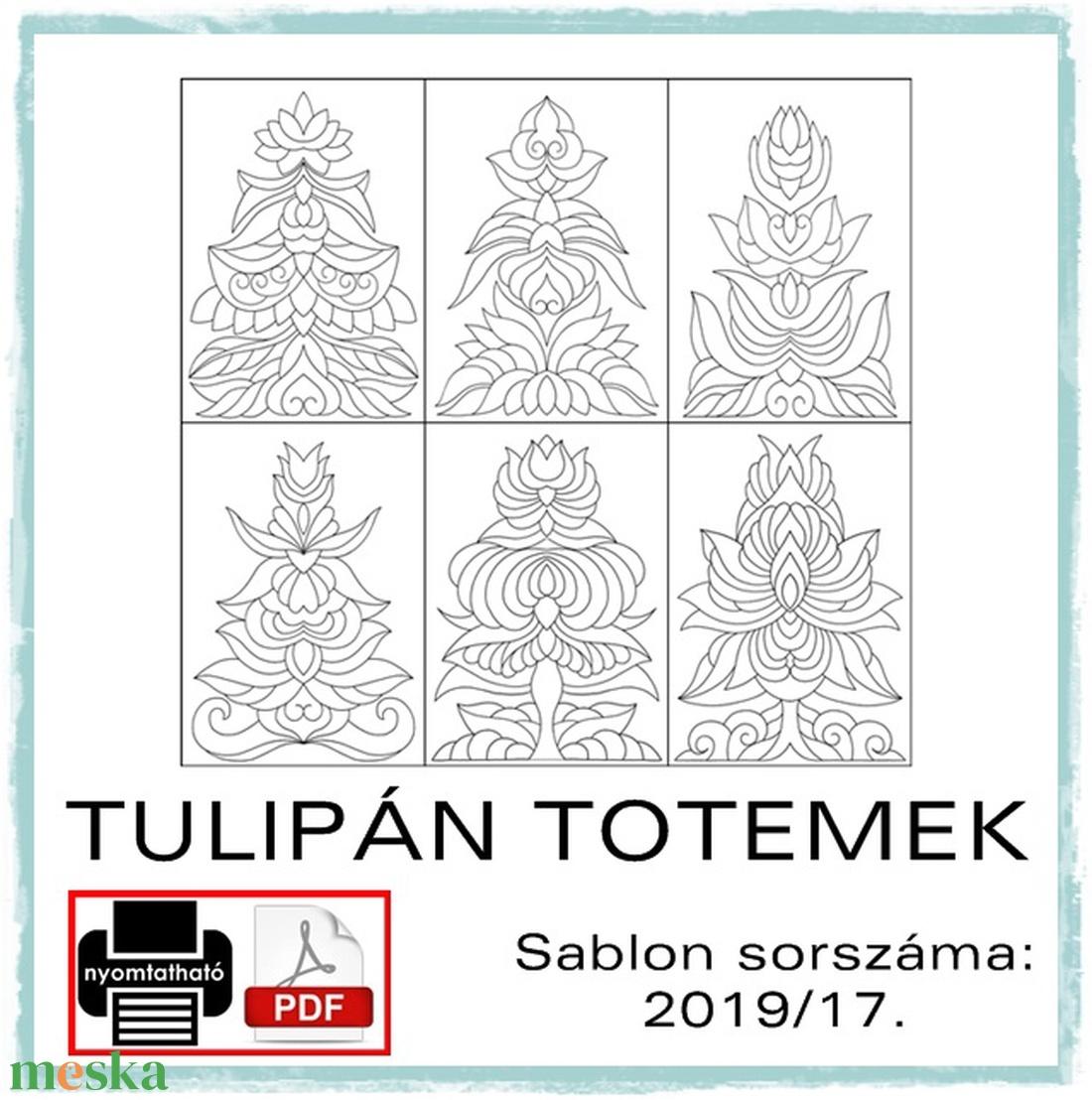 Tulipán totemek 2019/17. (kedo) - Meska.hu