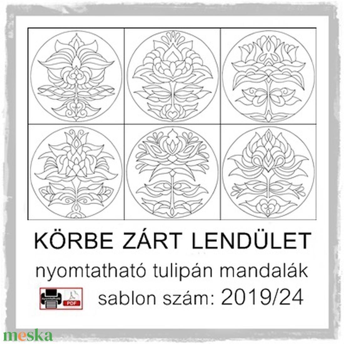 Körbe zárt lendület 2019/24 (kedo) - Meska.hu