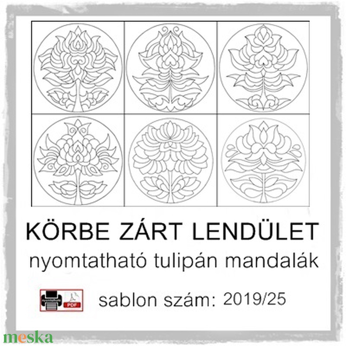 Körbe zárt lendület 2019/25 (kedo) - Meska.hu