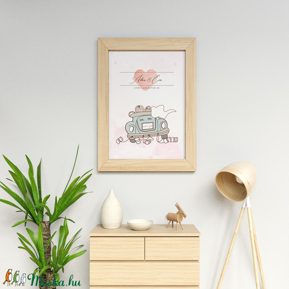 Esküvői poszter • nászajándék (kejti) - Meska.hu