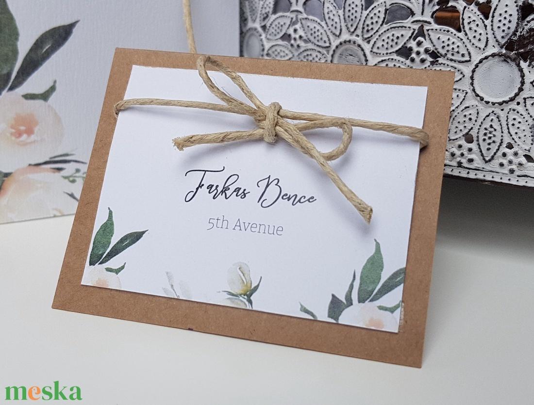 Esküvői ültetőkártya (kejti) - Meska.hu