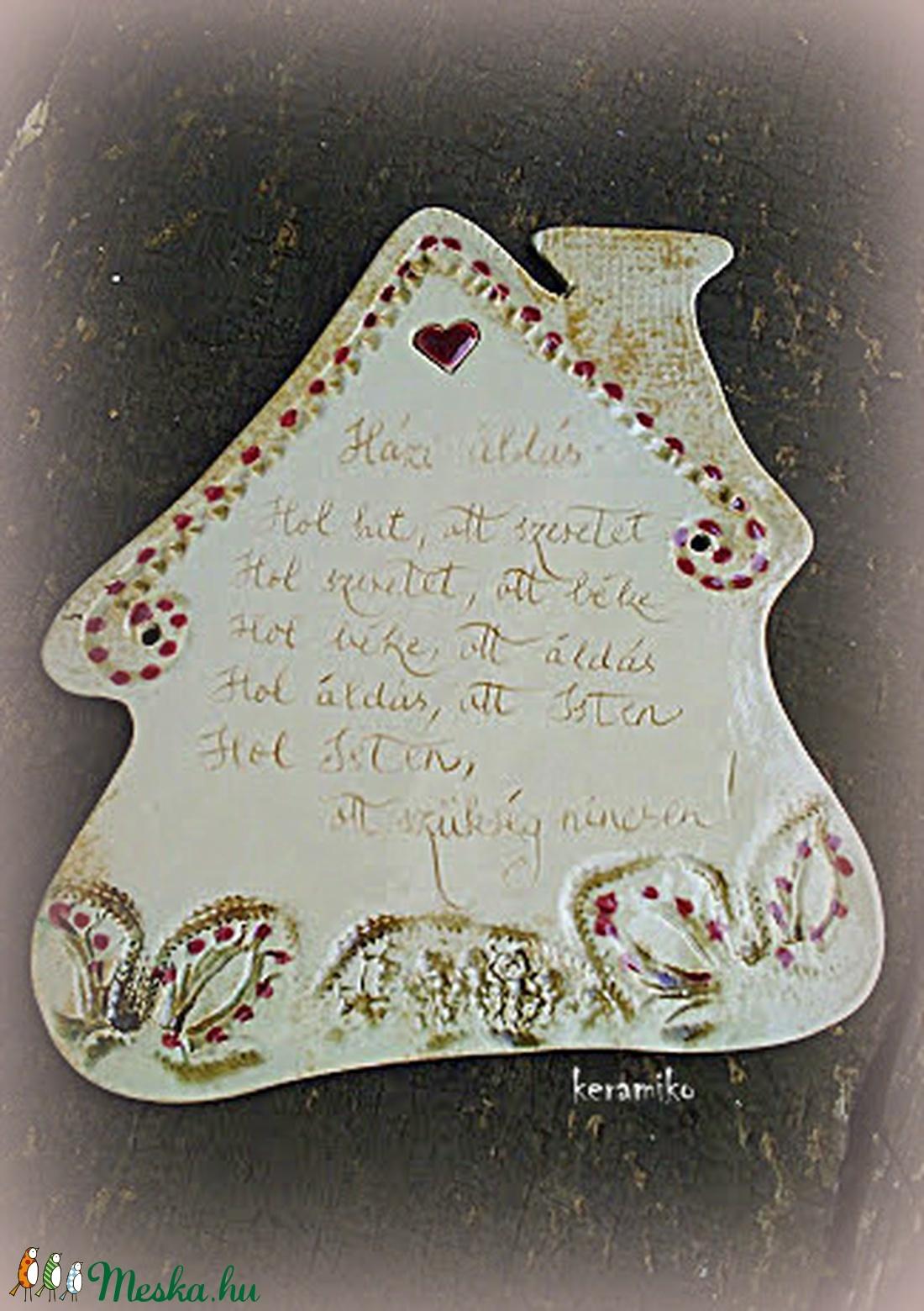 Házi áldás (keramiko) - Meska.hu