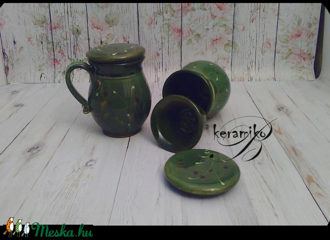szűrős bögre (keramiko) - Meska.hu