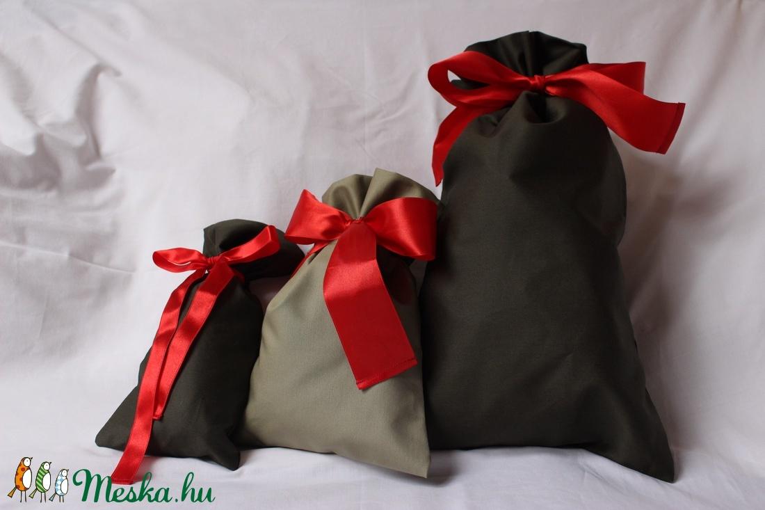 3 ajándékzsák karácsonyra vagy más ünnepre (újrahasznosítható) - otthon & lakás - papír írószer - ajándékzsák & csomagolás - Meska.hu