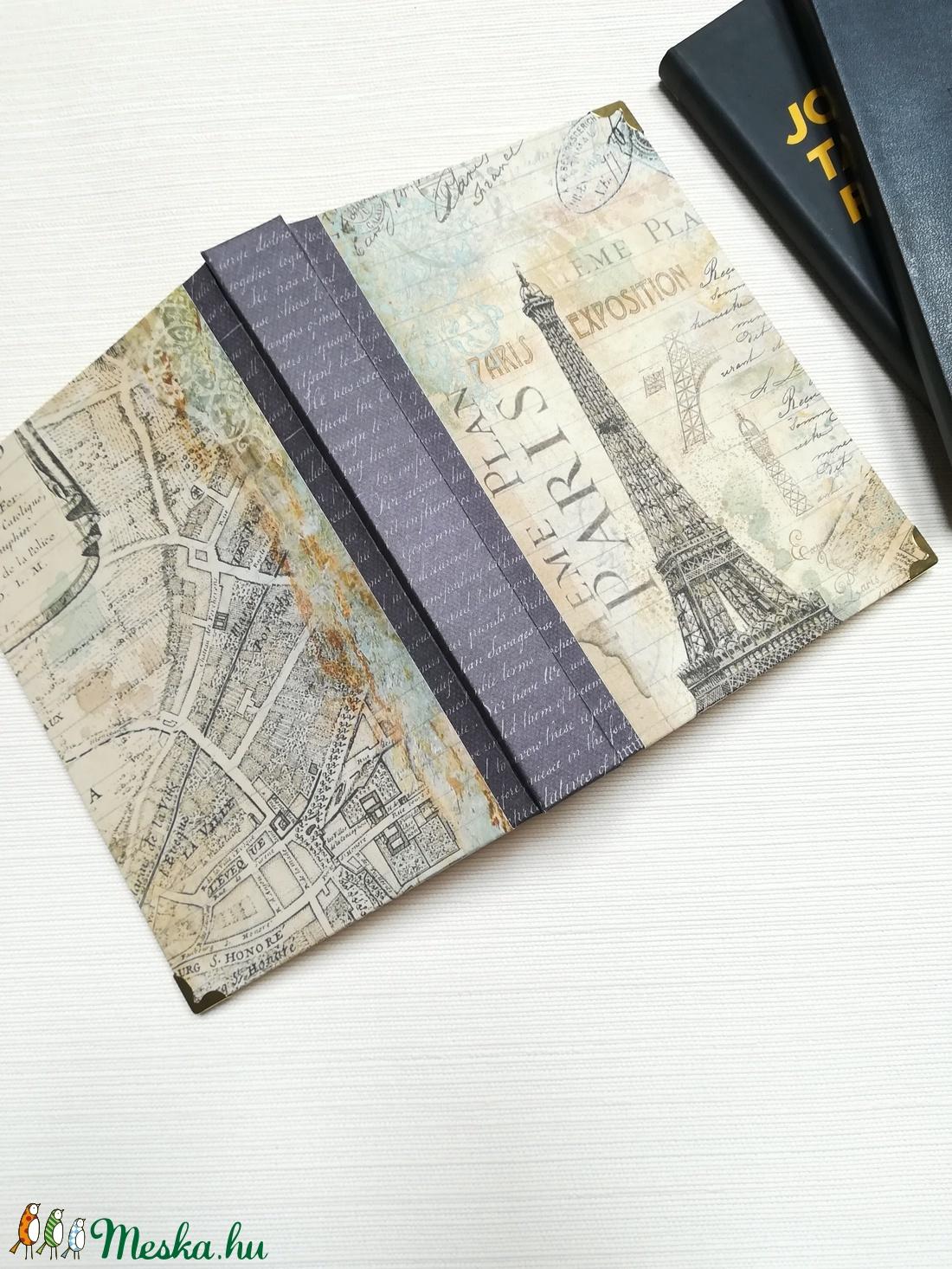 Paris , Eiffel Tower - otthon & lakás - papír írószer - jegyzetfüzet & napló - Meska.hu