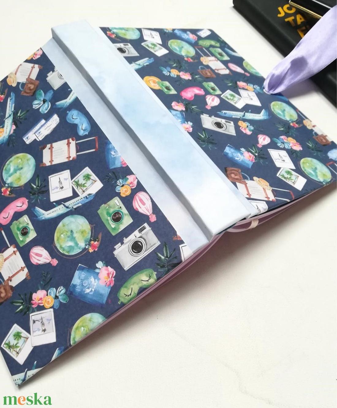 Travel fun- egyedi napló - otthon & lakás - papír írószer - jegyzetfüzet & napló - Meska.hu