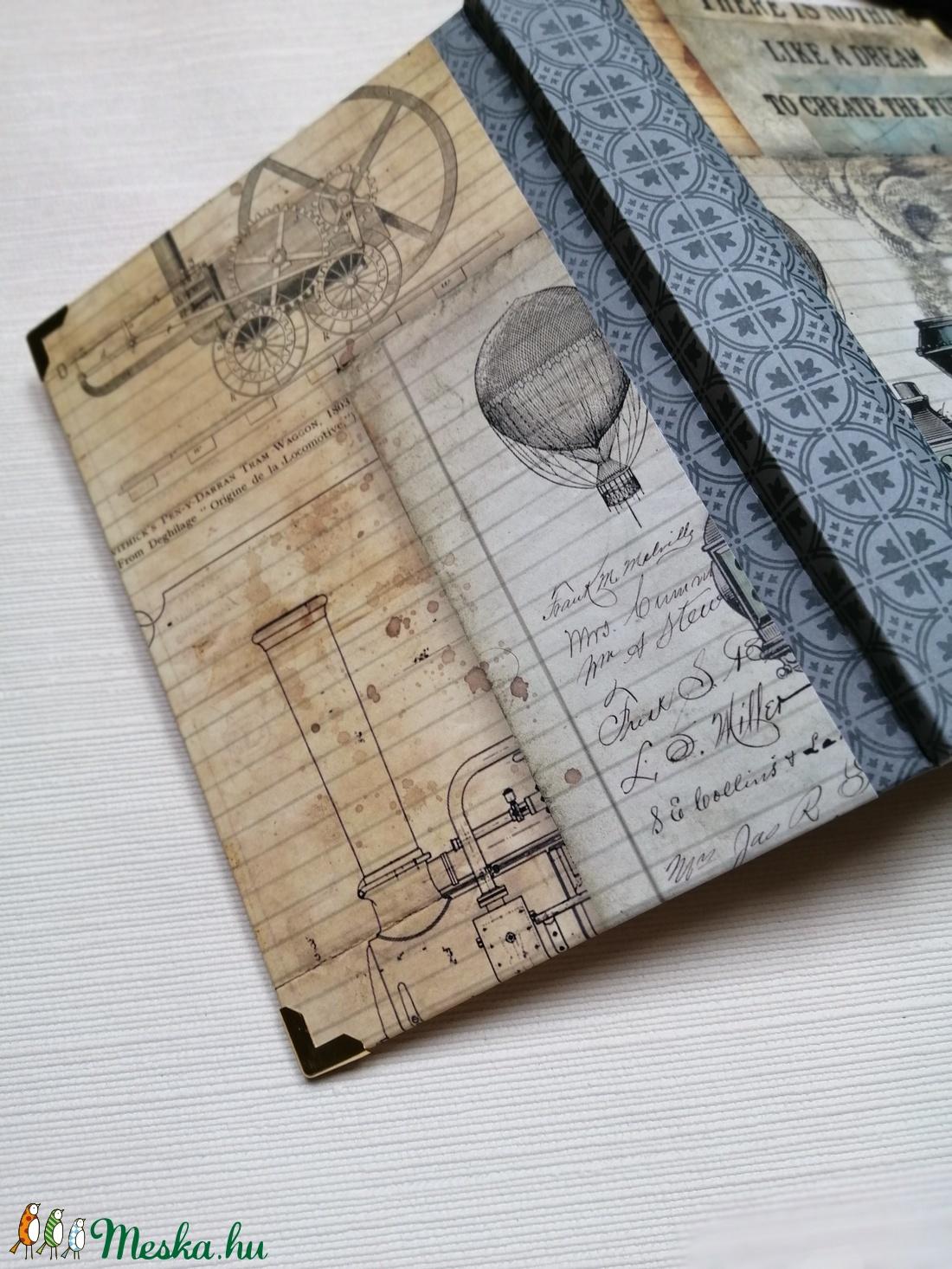 Locomotiv. Egyedi napló férfiaknak - otthon & lakás - papír írószer - jegyzetfüzet & napló - Meska.hu