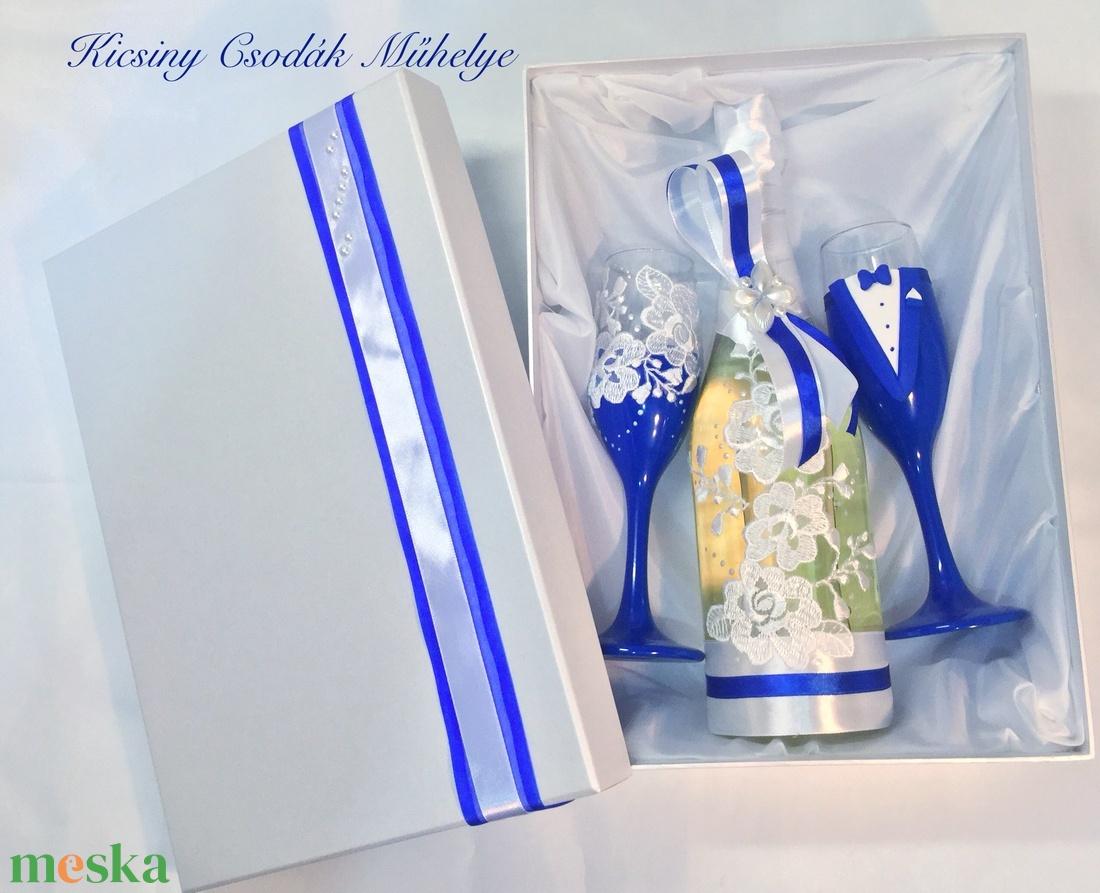 Csipke  esküvői  szett  (KicsinyCsodak) - Meska.hu