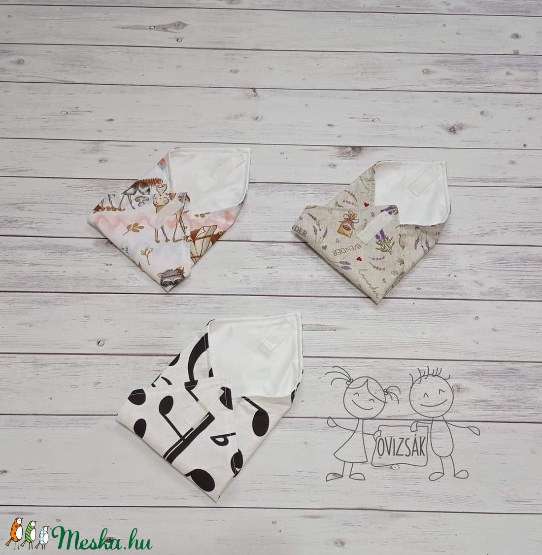 Textil szavéta / újraszalvéta, többféle minta - táska & tok - Meska.hu