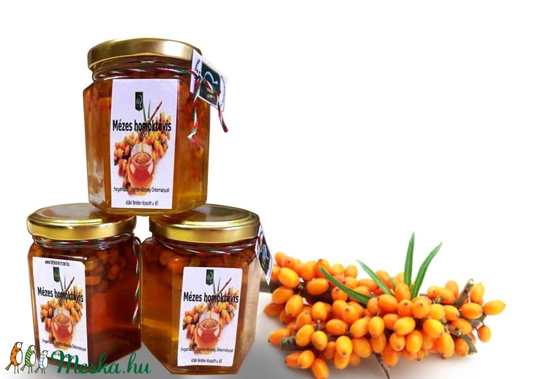 Homoktövis bogyó mézben  (Kincseink) - Meska.hu