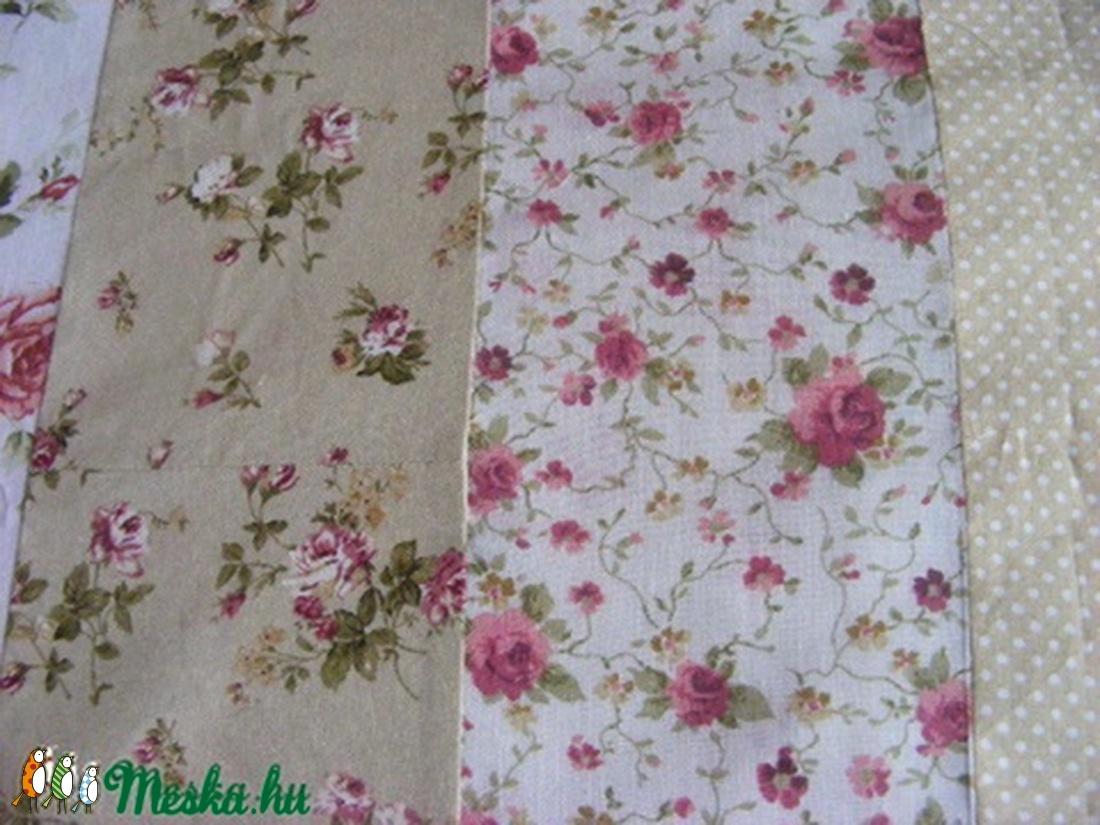 patchwork takaró csíkokból van összevarrva, párnahuzattal - otthon & lakás - lakástextil - párna & párnahuzat - Meska.hu