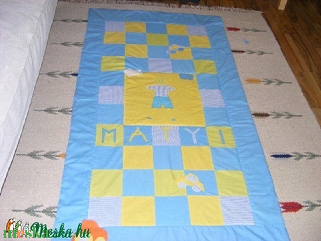 patchwork névre szóló, falvédő is készülhet - otthon & lakás - lakástextil - falvédő - Meska.hu