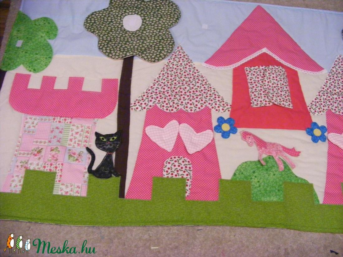 patchwork falvédő,takaró, vidéki hangulat - otthon & lakás - lakástextil - falvédő - Meska.hu