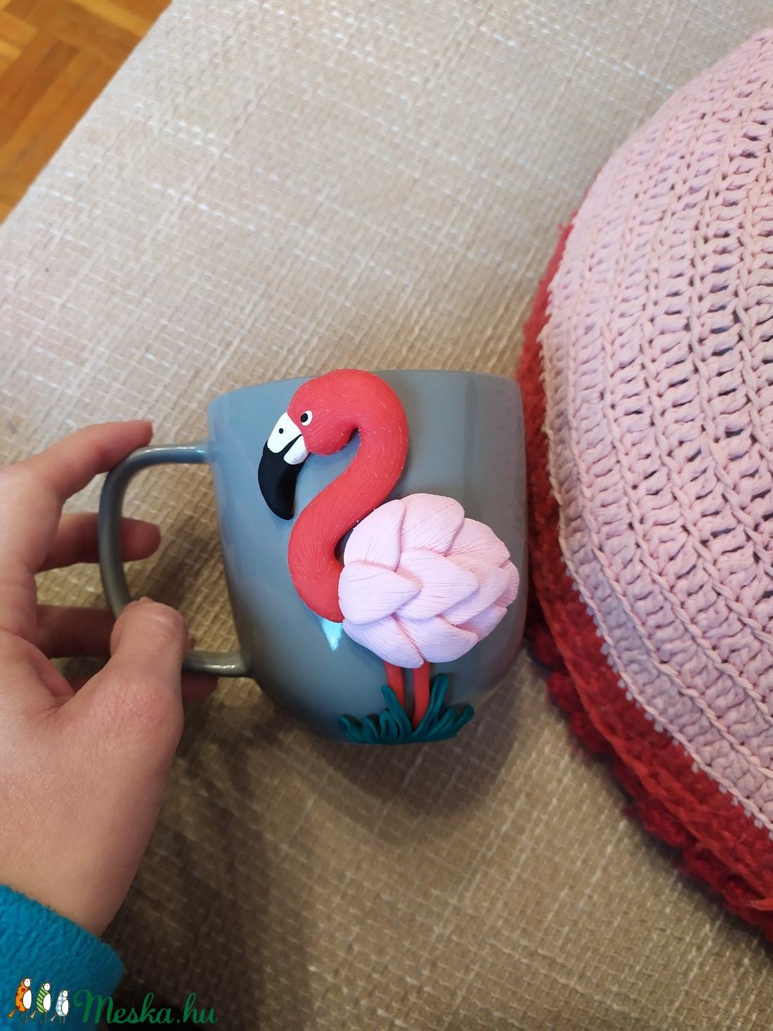 Flamingó mánia (KittyDekor) - Meska.hu