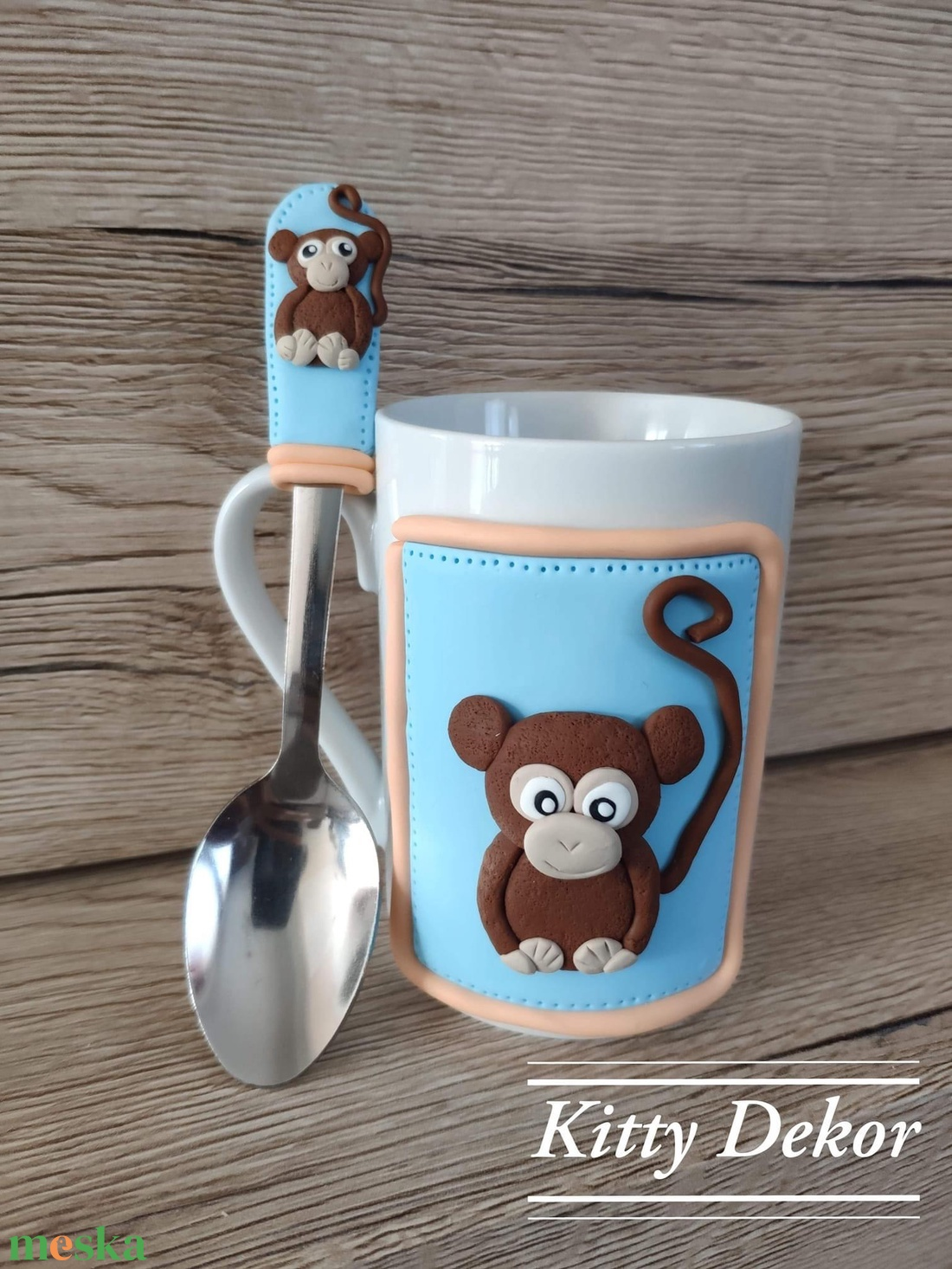 Majmóca szett (KittyDekor) - Meska.hu