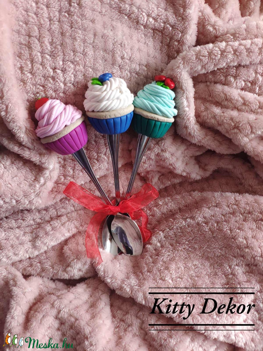 Cupcake kanál szett (KittyDekor) - Meska.hu