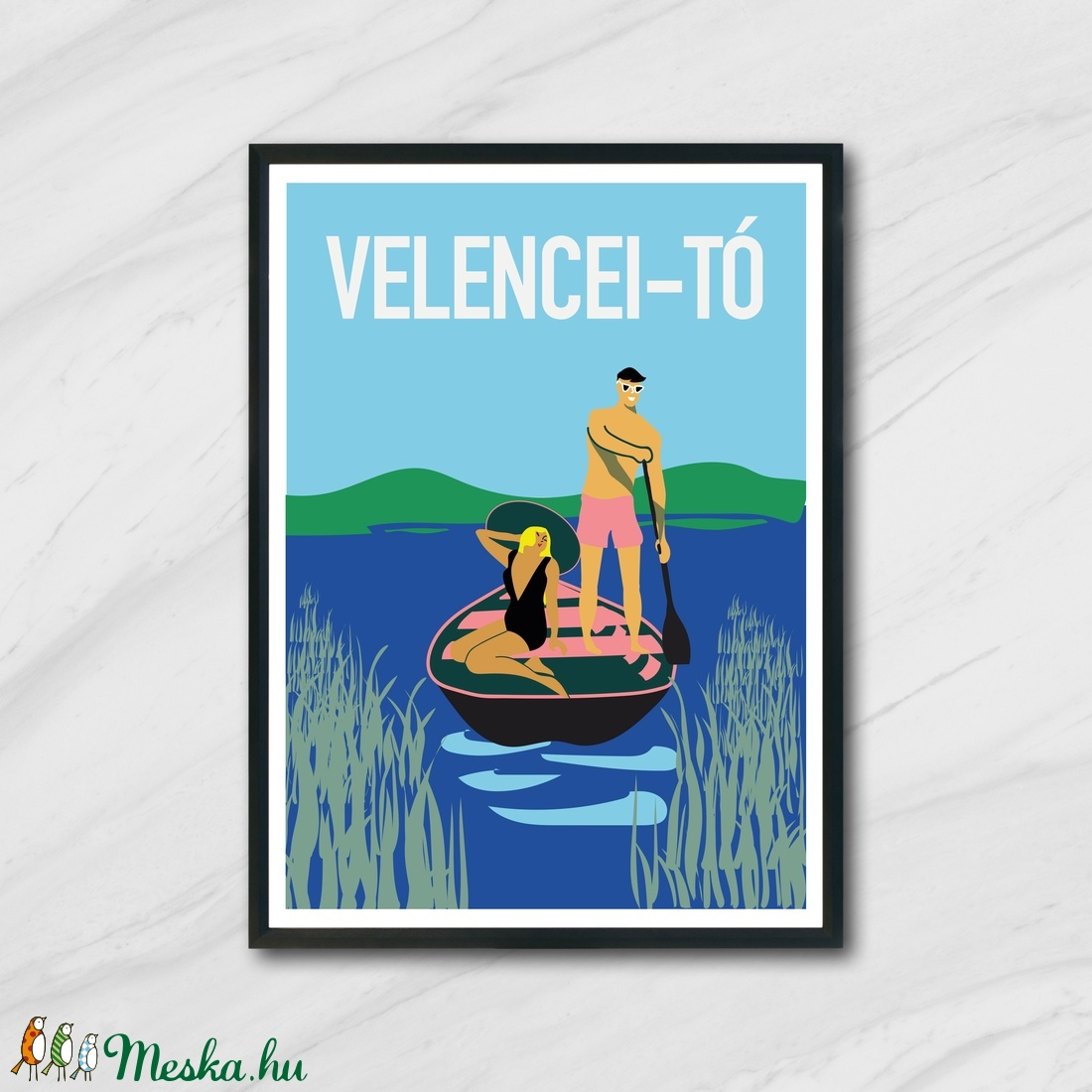 Velencei-tó (KoalaArt) - Meska.hu