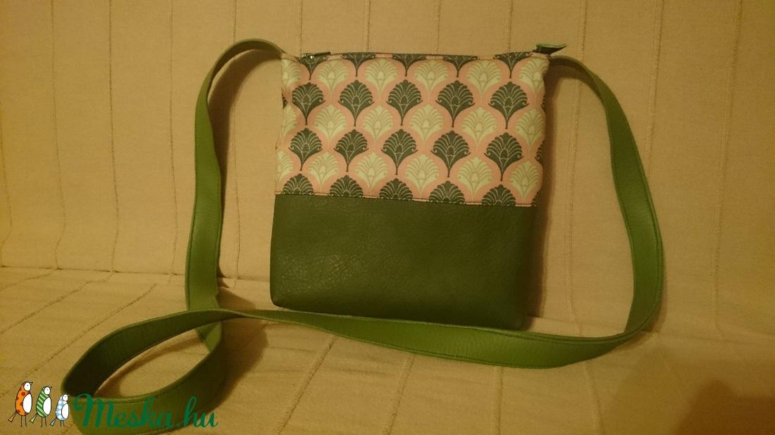 Zöld bőr kis táska  válltáska (kolibri7) - Meska.hu ab3c631526