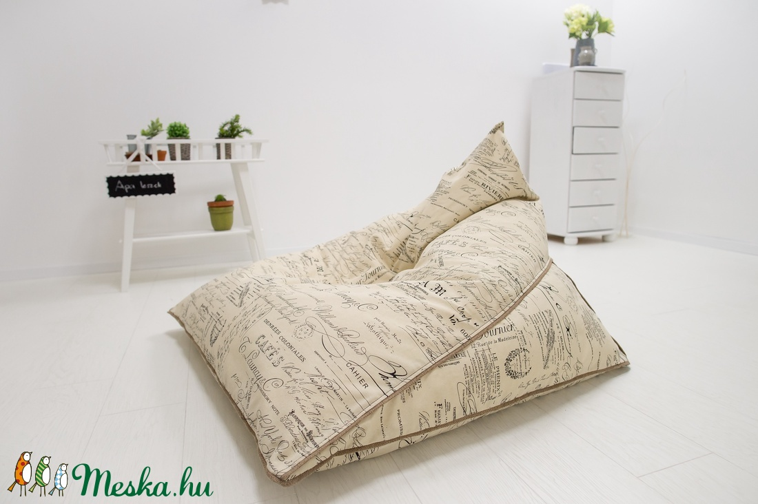 Ufó babzsák fotel felnőtteknek és tiniknek, design babzsákfotel felnőtteknek (kolyokdzsungel) - Meska.hu