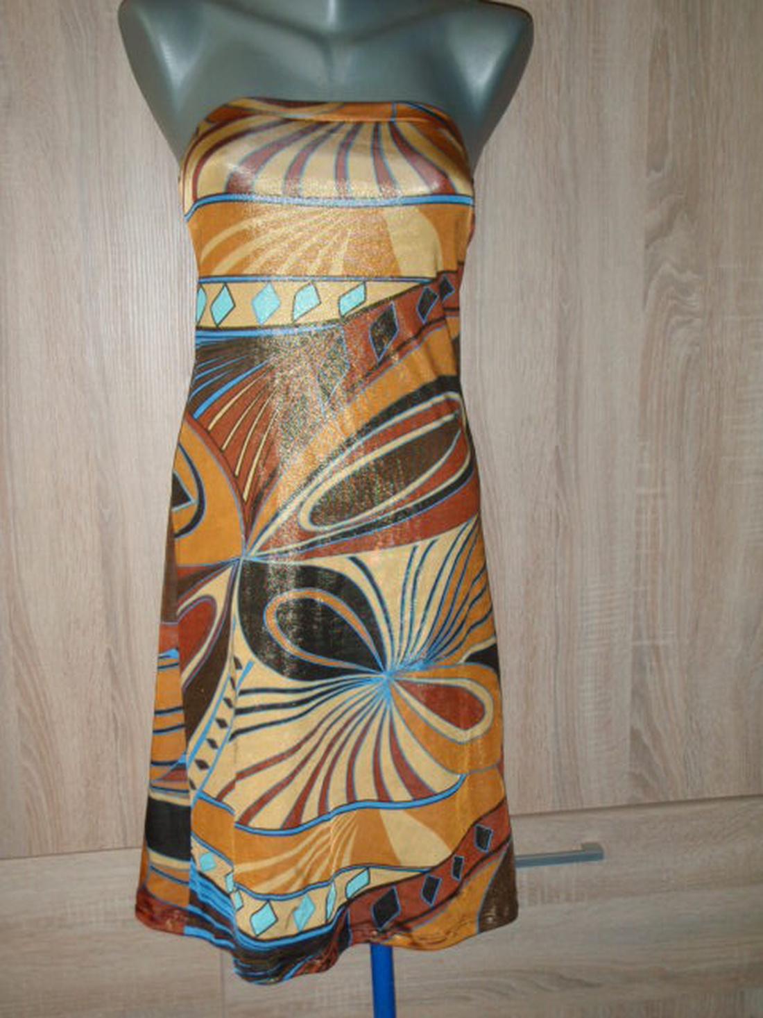 L es aranyozott nyári ruha. Alkalmi viselet. Akció! (kornelia82) - Meska.hu b041e7647a