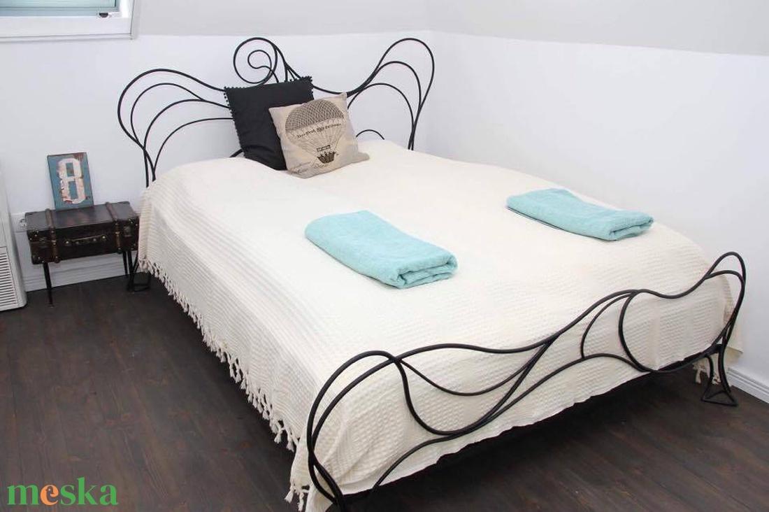 140x200 kovácsolt ágy keret   - otthon & lakás - bútor - ágy - Meska.hu
