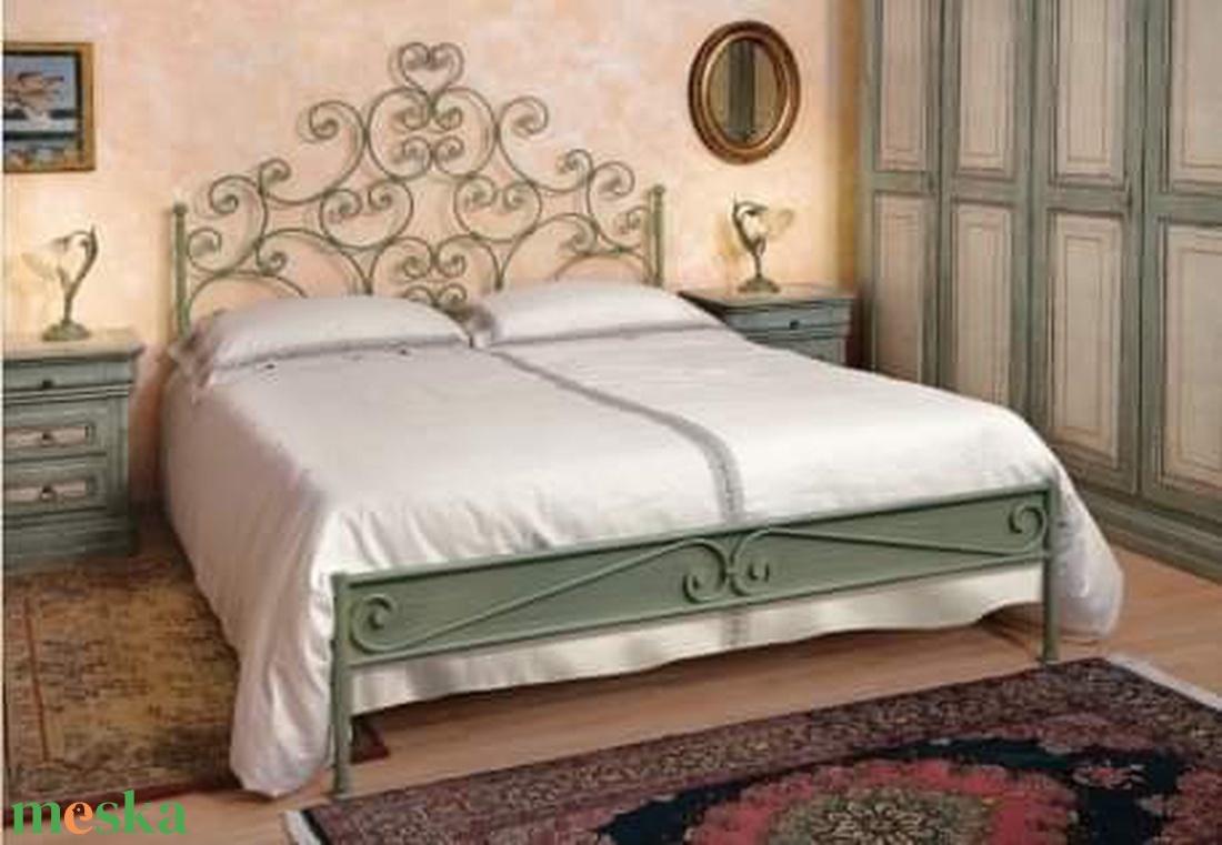 140x200  kovácsoltvas ágy keret - otthon & lakás - bútor - ágy - Meska.hu