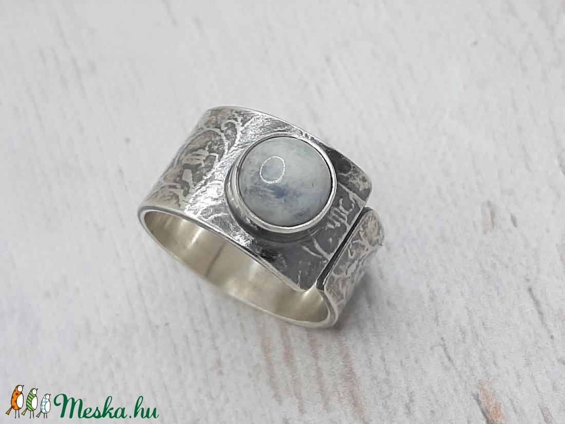 Holdkő ezüst gyűrű  - ékszer - gyűrű - szoliter gyűrű - Meska.hu