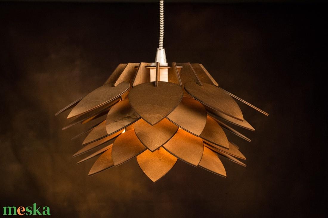Nyitott lótuszvirág csillár ( függő ) - otthon & lakás - lámpa - fali & mennyezeti lámpa - Meska.hu