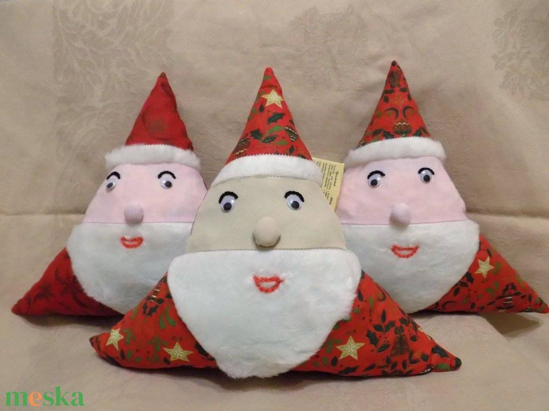 Mikulás párnák - zacskó helyett, édességnek - otthon & lakás - lakástextil - párna & párnahuzat - Meska.hu