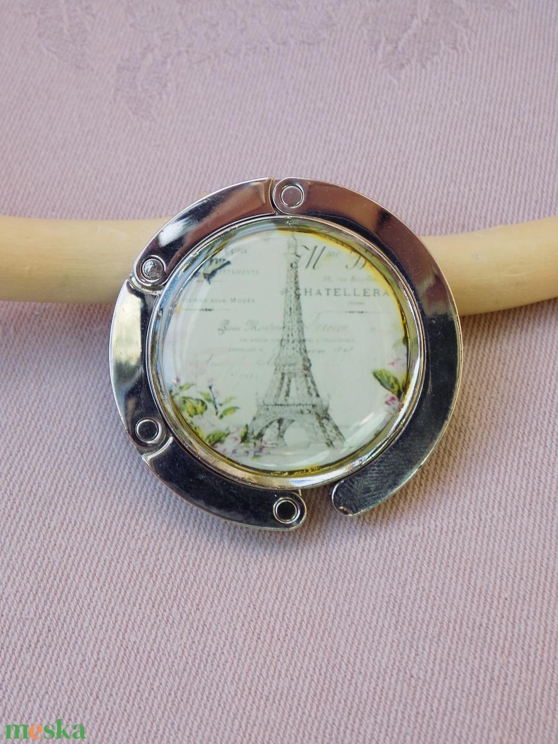 Eiffel torony - Táska akasztó  - Meska.hu