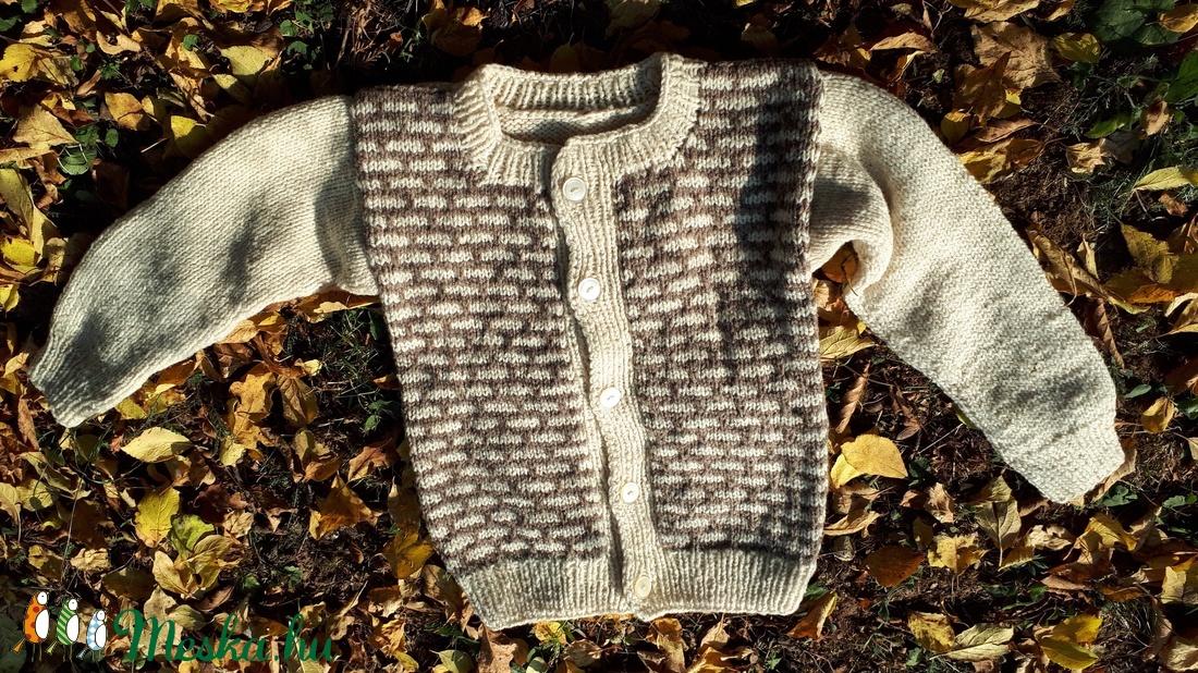 Gyermek gyapjú kardigán 3. - ruha & divat - babaruha & gyerekruha - pulóver - Meska.hu