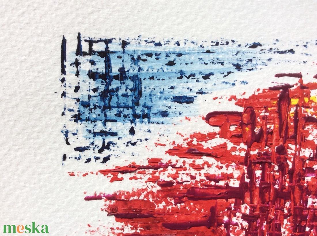 �Naplemente-festmény - művészet - festmény - akril - Meska.hu