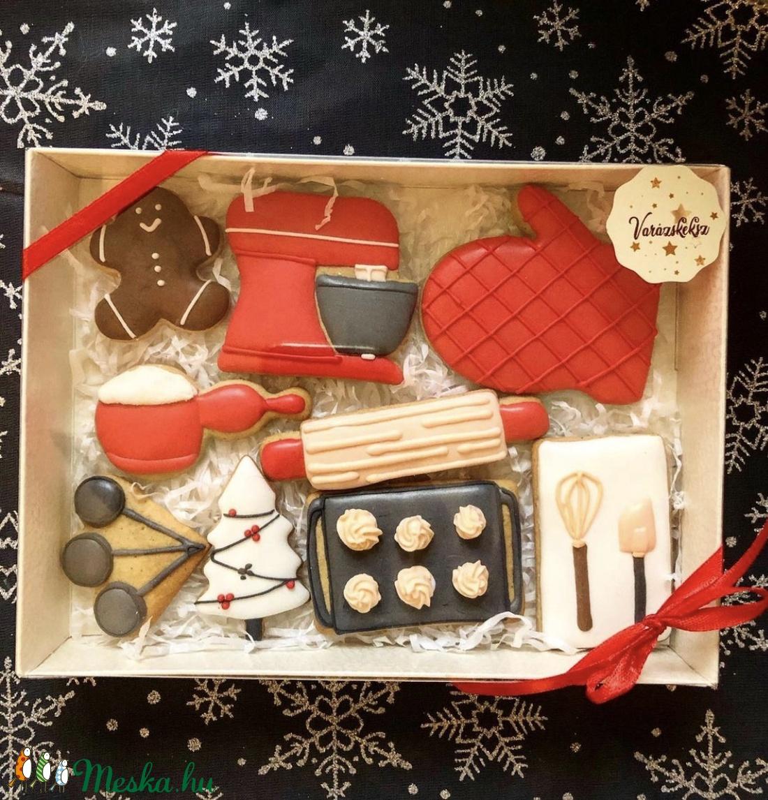 Karácsonyi mézesbox (KrisztinaVivi) - Meska.hu